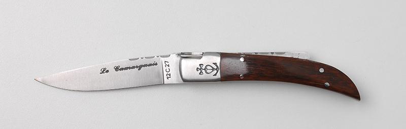 Vente en ligne Couteau traditionnel Le Camarguais Trident forgé N°10 - bois d'amourette