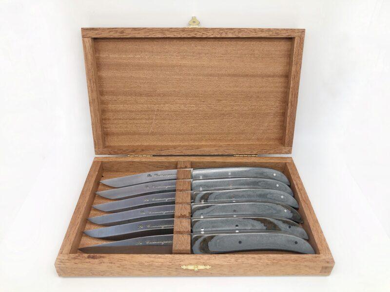 Coffret de table 6 Couteaux Le Camarguais - Paperstone