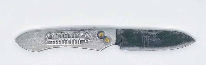 Le Gallo Romain Couteau de Poche extra plat | Coutellerie à Nîmes