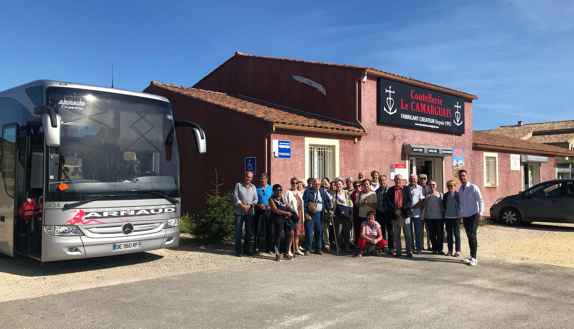 Visites et stages à la Coutellerie Le Camarguais à Nîmes