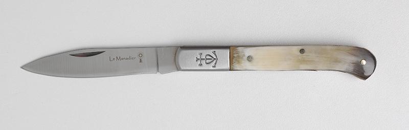Le Manadier en Corne de Taureau n°10 - Couteau Régional et Traditionnel